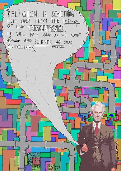 Bertrand Russell (BertrARTnd BRussell) by taudalpoi