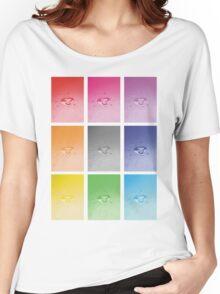 Wet heart - rainbow dash Women's Relaxed Fit T-Shirt