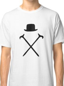 Bowler Hat and Canes T Shirt Classic T-Shirt