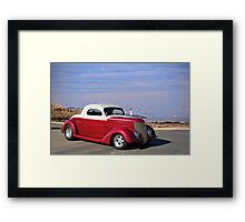 1937 Ford 'Chopped Top' Coupe Framed Print