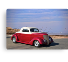 1937 Ford 'Chopped Top' Coupe Canvas Print