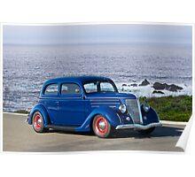 1936 Ford Tudor Sedan III Poster