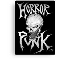 Horror Punk Canvas Print