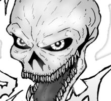 Horror Punk Sticker