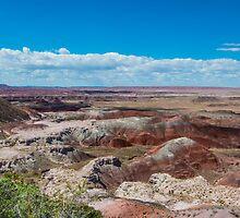 Kachina Point, Painted Desert, on Route 66, AZ by swtrekker