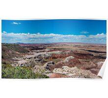 Kachina Point, Painted Desert, on Route 66, AZ Poster