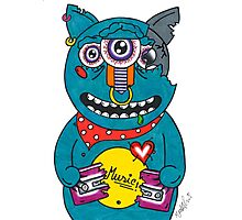 Music monster Photographic Print