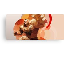 The Russian Wrestler Canvas Print