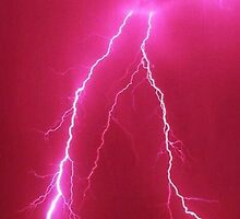 pink lightning by Gabe12345678