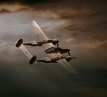 P38 In The Pacific by J Biggadike