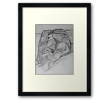 """A Mother's Comfort"" by Carter L. Shepard Framed Print"