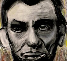 Abraham Lincoln Charcoal drawing by Followthedon