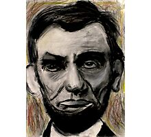 Abraham Lincoln Charcoal drawing Photographic Print