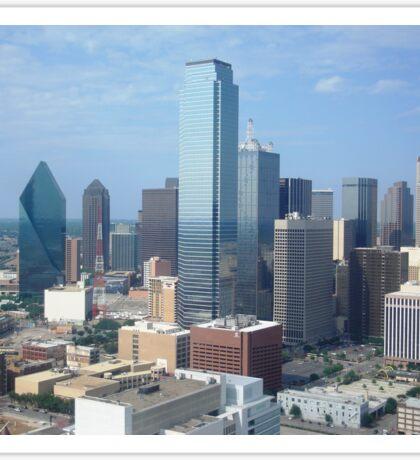 Downtown Dallas 051907 Sticker