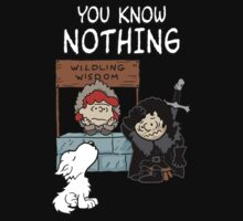 You Know Nothing by shirtypants