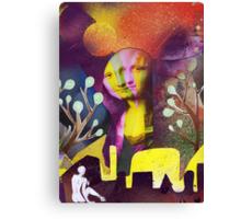Journey to see La Gioconda Canvas Print