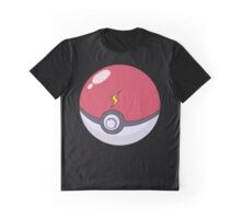 Pikachu's Pokeball Graphic T-Shirt