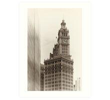 Chicago_Wrigley Building Art Print