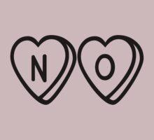 Conversation Hearts - NO by hunnydoll