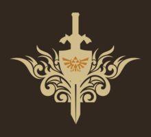 Sword of Zelda by Blubirdie Shirts