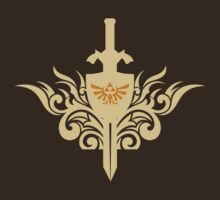 Sword of Zelda by Blubirdie Shirts