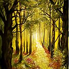 Path in the Forest by Cherie Roe Dirksen