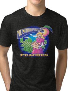 Mushroom Kingdom's Freshest Tri-blend T-Shirt