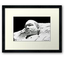 Martin Luther King, Jr. Memorial Framed Print