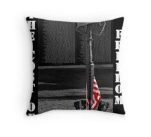 Vietnam Wall w/ Memorial Throw Pillow