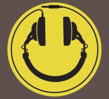 Headphones smiley wire plug Kids Clothes