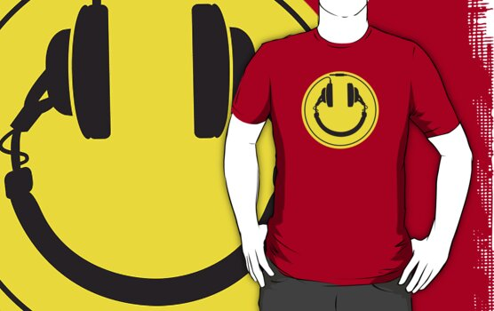 Headphones smiley wire plug by LaundryFactory