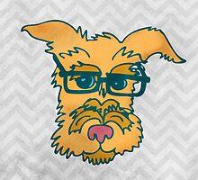 Mack The Cool Nerd Dog by joyfulroots