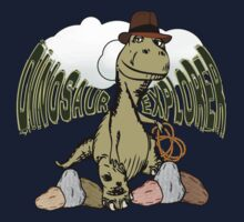 Cartoon Tyrannosaurus Dinosaur Explorer  Kids Clothes