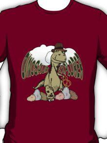 Cartoon Tyrannosaurus Dinosaur Explorer  T-Shirt