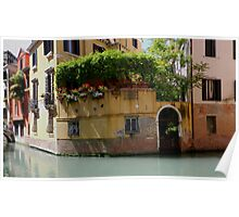 "Venice ""streetscape"". Poster"