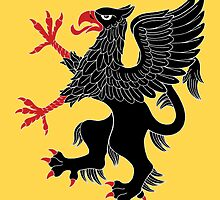 Griffin Rampant Sable by RHFay