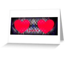 Sweethearts  card  Greeting Card