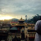 Pashupatinath Temple by Jamie Mitchell