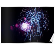 Fireworks - Fourth of July Poster