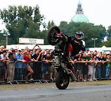 motorcycle stunt 009 by dirk hinz