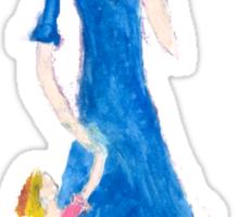 Child of the TARDIS 3-Womens Sticker
