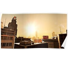Mirrors Edge - Sunset Poster