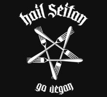 Hail Seitan 1.1 (white) by MysticIsland
