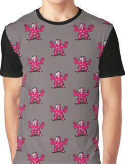 Fierce Shattered Man Graphic T-Shirt