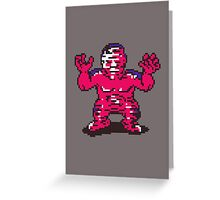 Fierce Shattered Man Greeting Card
