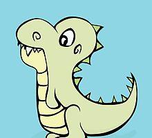 Dinosaur Cutie by Starsania