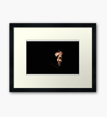 Lord, I know you get so many entreaties from reality stars that you've got a huge backlog, but... Framed Print