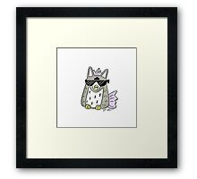 FURBY COOL Framed Print