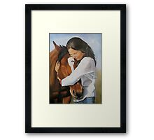 Bridget and Her Rescue Framed Print