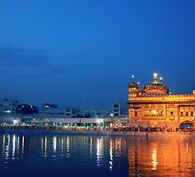The Golden Temple of Amritsar by Jamie Mitchell